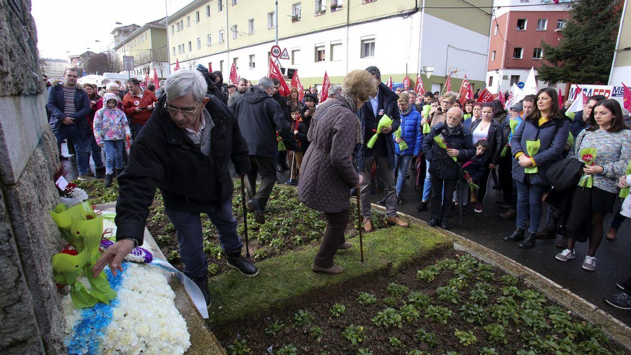 Actos del 10 de marzo en Ferrol.Las obras de tranformación de la eléctrica consumen 217 millones de euros