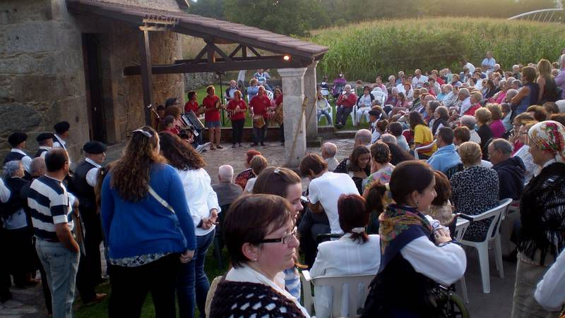 El pastor alemán apareció en el lugar de Gradoi.