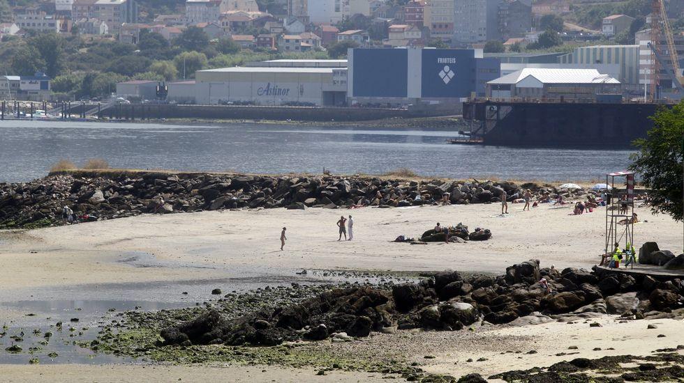 Playa de A Punta en Vigo