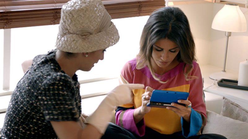 Javier Bardem ya está en el Paseo de la Fama.Dos imágenes de la actriz española incluidas en el calendario Campari