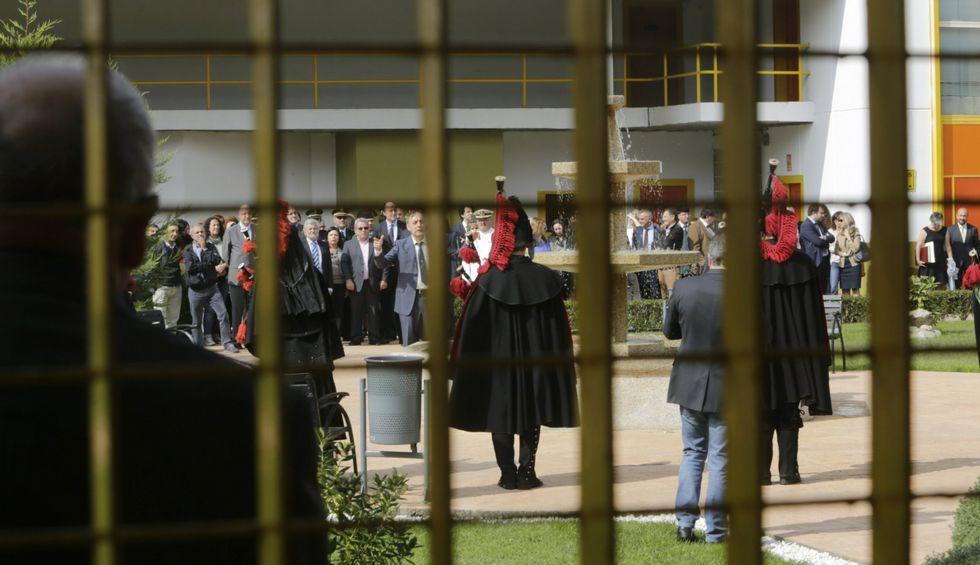 .La prisión de Pereiro, en el transcurso de los actos oficiales del Día de la Merced.