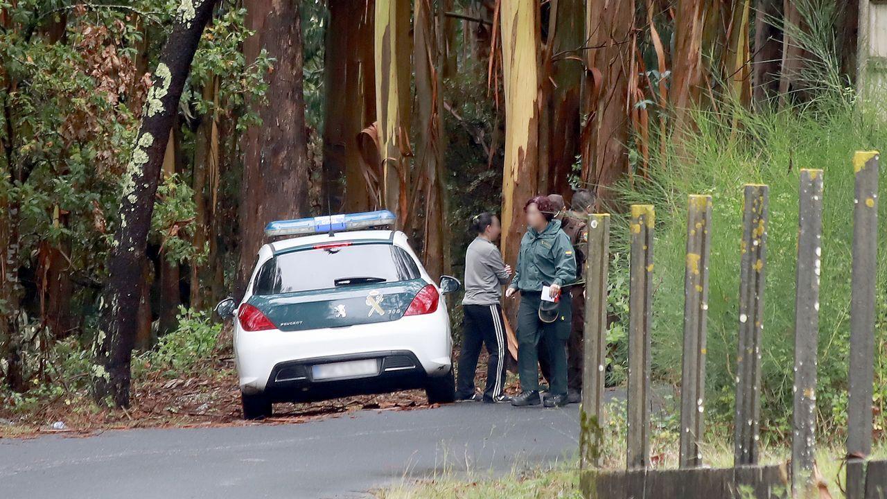 El conductor acusado de un atropello mútiple en Posada de Llanes, en silla de ruedas, a la salida del juzgado