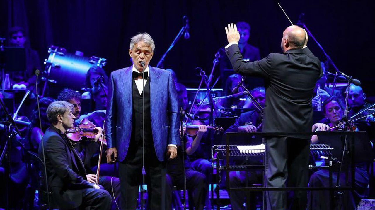 Andrea Bocelli en el Festival Cap Roig 2018