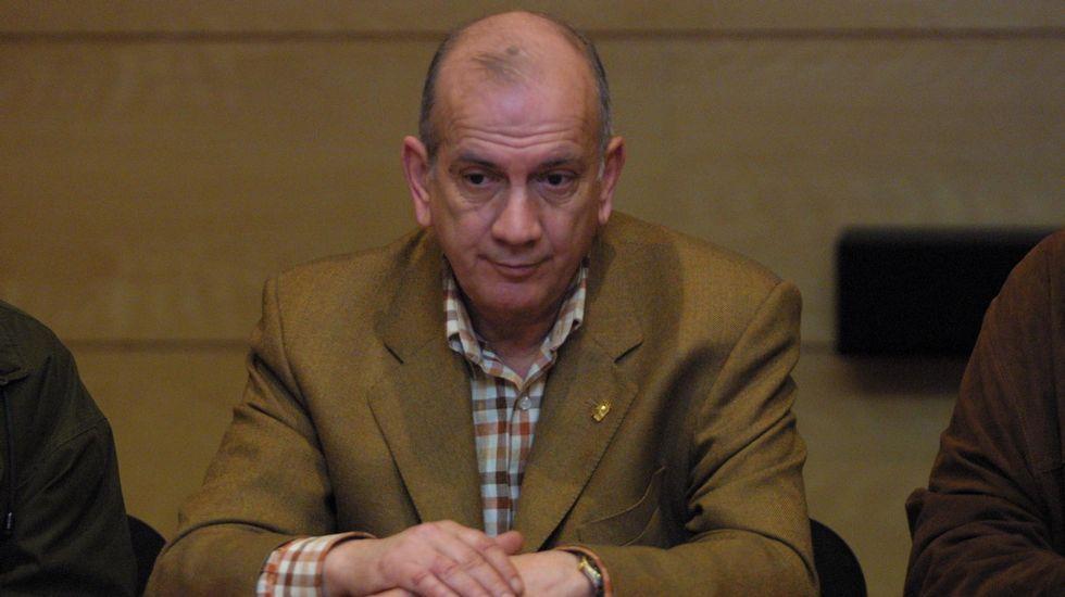 Cid Harguindey en una foto de archivo cuando era concejal en Verín (año 2004)