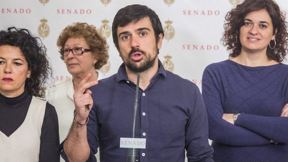 Anticorrupción pide la imputación de Rita Barberá por blanqueo de capitales.Rocío Frutos, Pilar Cancela, Susana Sumelzo y Gómez.