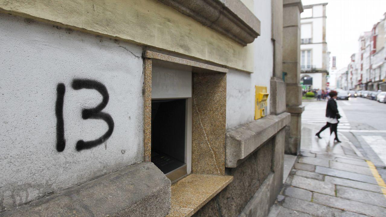 .La Policía Local asegura que 13 es el autor de pintadas más activo de la ciudad actualmente