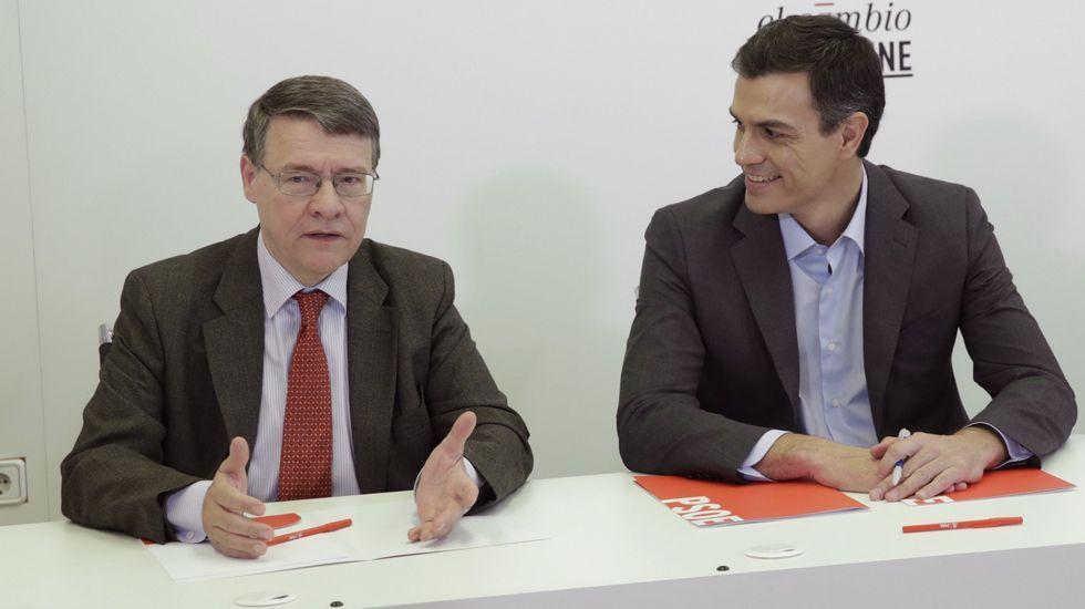 Alejandro Legarda (izquierda) y Fernando Herce en una imagen de archivo.