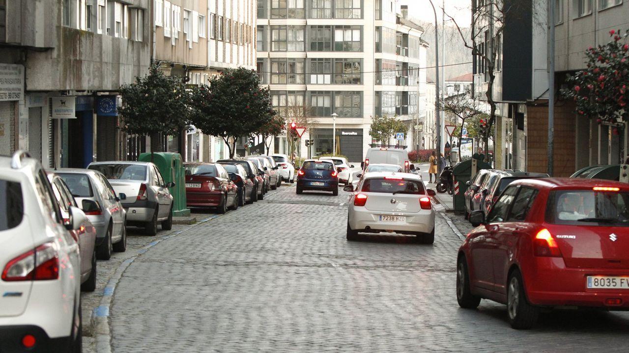 Las galerías de la movida en Santiago: «Esto era una riada de gente»