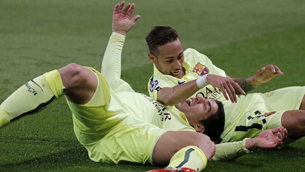 Luis Enrique no se ve favorito para la Champions.Guidetti remata ante Ibrahimovic