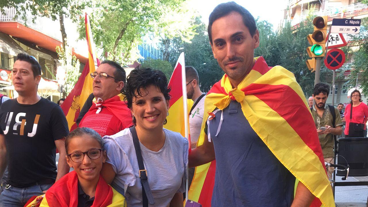 Mópnica y Alberto. Barcelona.
