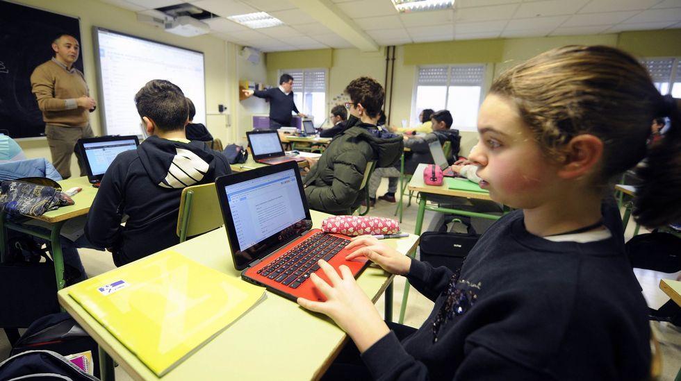 El IES Laxeiro de Lalín es uno de los centros que tiene E-Dixgal en secundaria
