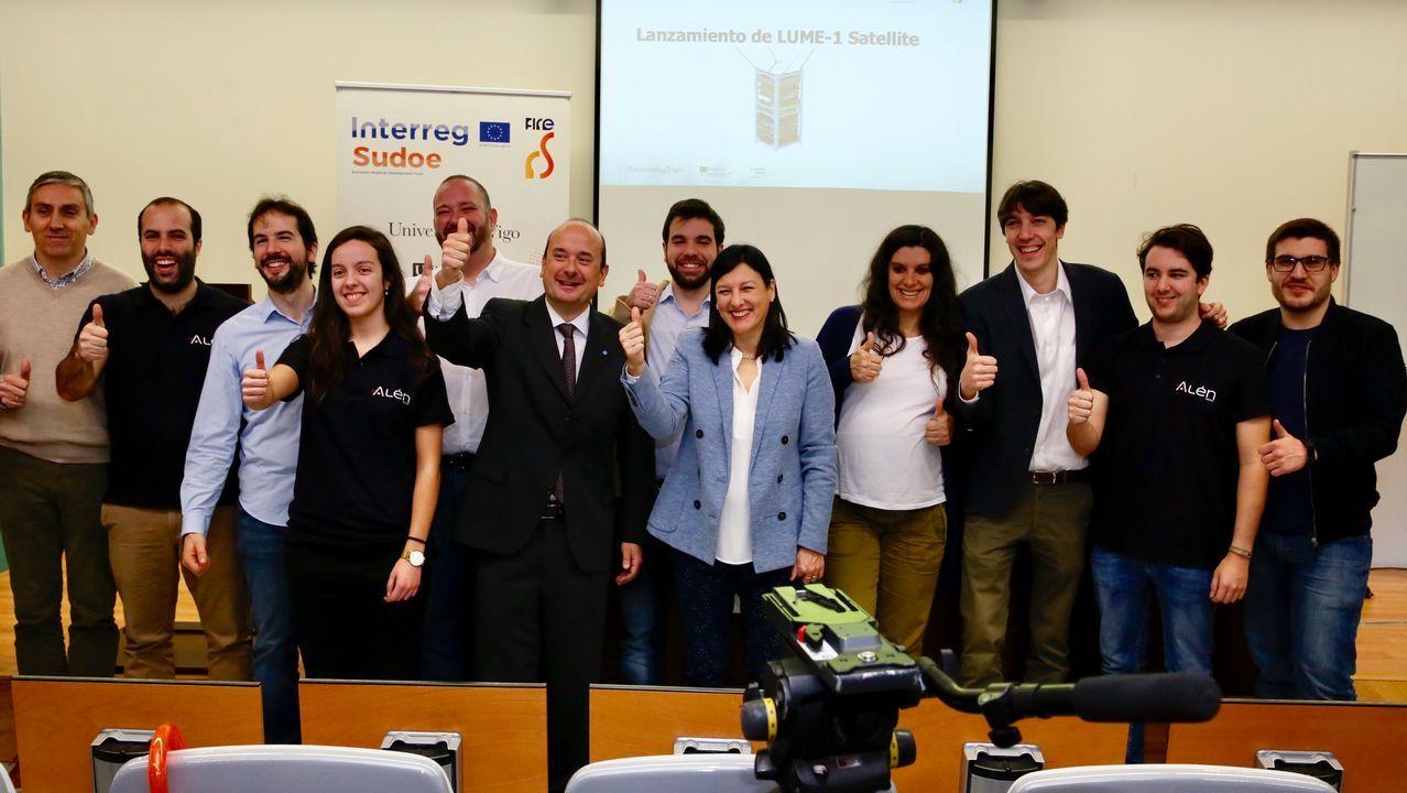 El cuarto satélite de la Universidad de Vigo ya está en órbita
