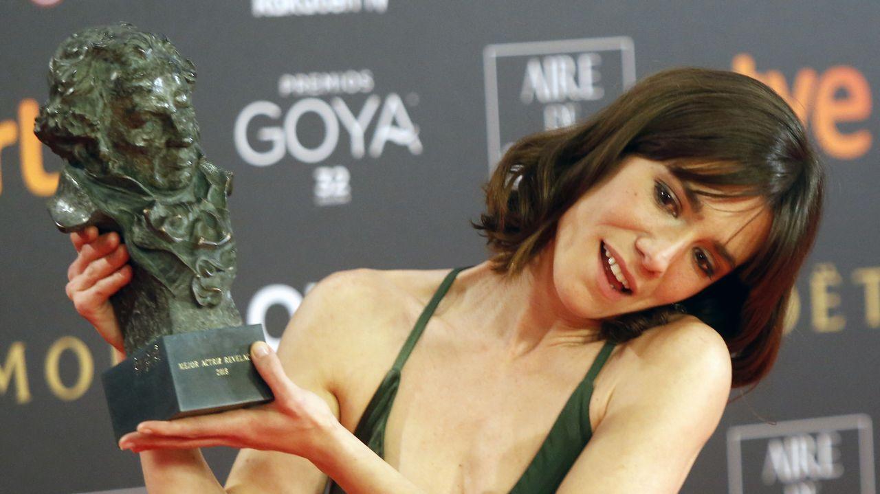 Ellas se dieron el primer «sí quiero».Bruna Cusi, premio a la mejor actriz revelación por «Verano 1993»