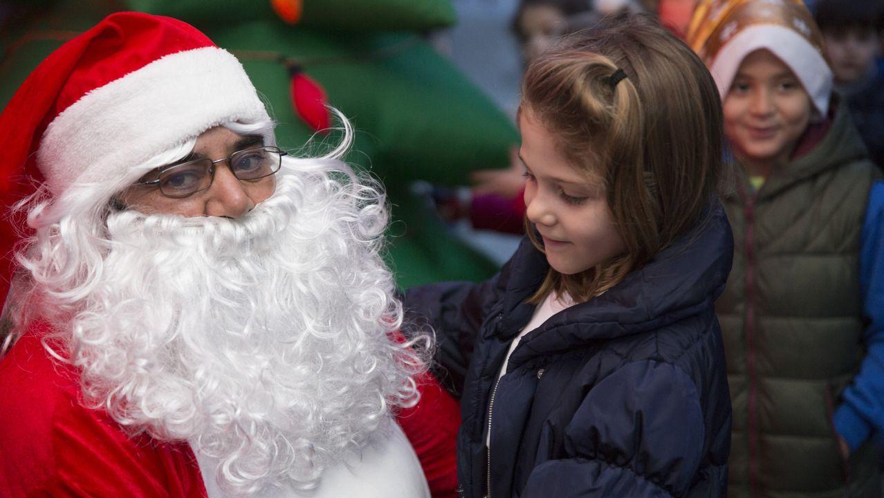 Papá Noel en Corme