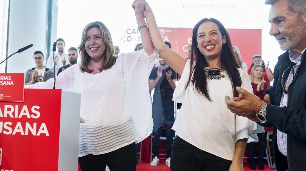 Susana Díaz, «cada día más convencida de que el PSOE saldrá del proceso con mucha fortaleza».
