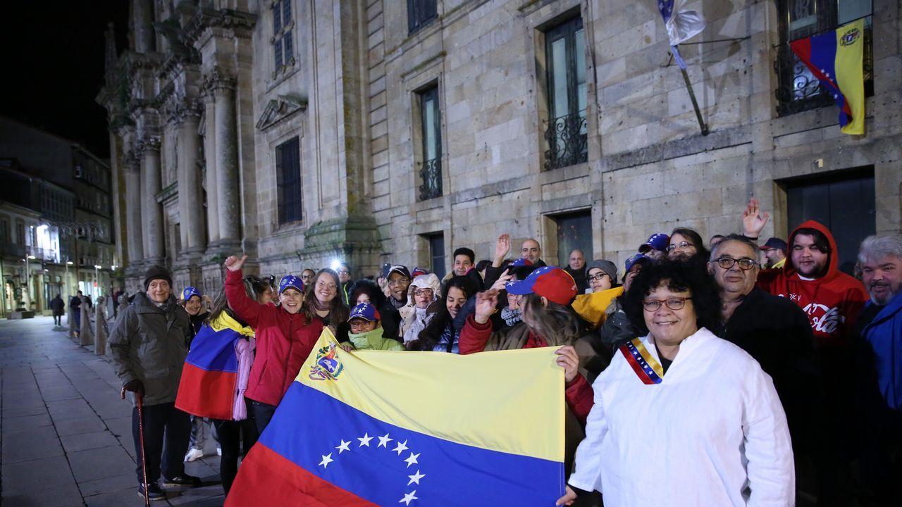 Venezolanos en Celanova