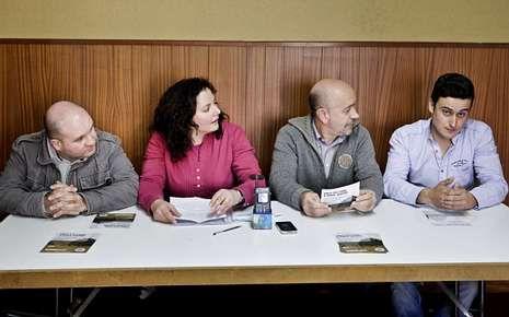 Los portavoces del BNG en Silleda, Dozón, Lalín y Rodeiro.