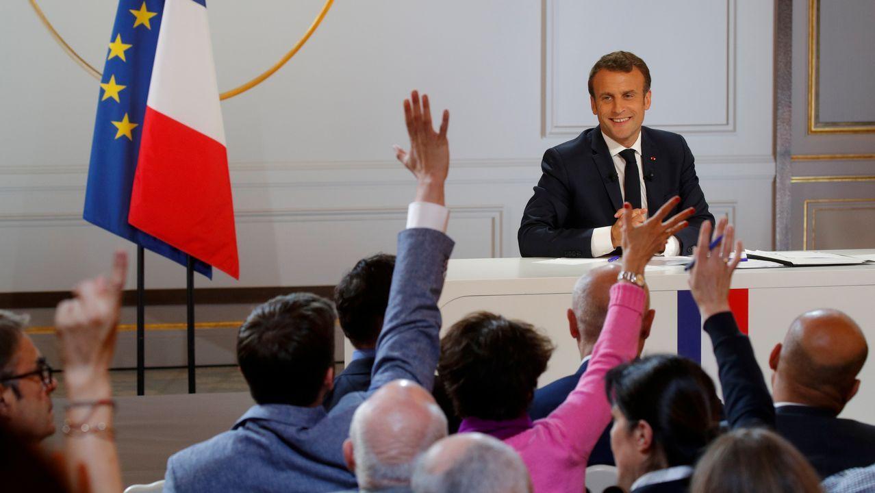 «Creo que puedo hacerlo mejor», confesó ante los 300 periodistas que abarrotaban la sala del Elíseo donde Macron se enfrentaba, por primera vez, al formato de la gran rueda de prensa