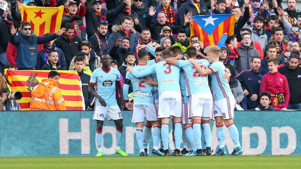 .Celta 2 - Barcelona 2 (2 de diciembre)