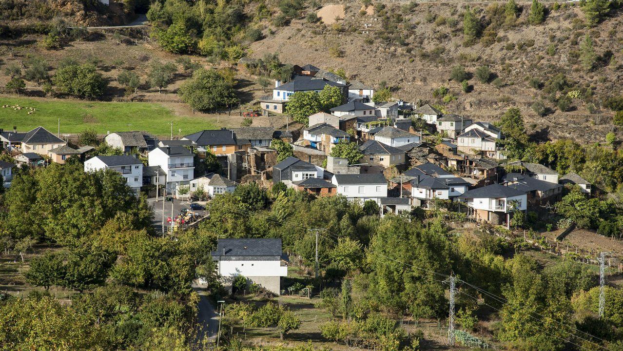 Una vista de la aldea de Figueiredo