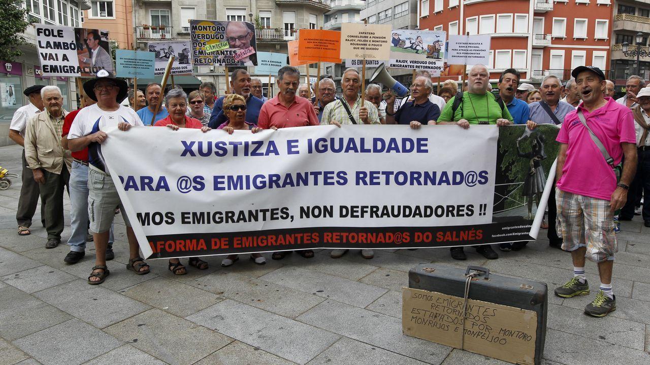 Concentración de emigrantes retornados