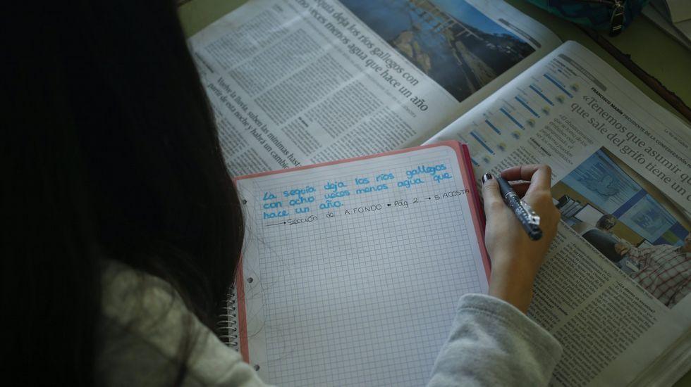 Reelaborar la noticia usando las propias palabras es uno de los retos que propone el concurso de Prensa-Escuela