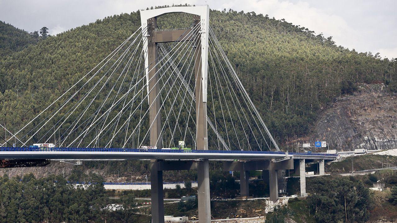 El puente de Rande, en una imagen de noviembre del año pasado