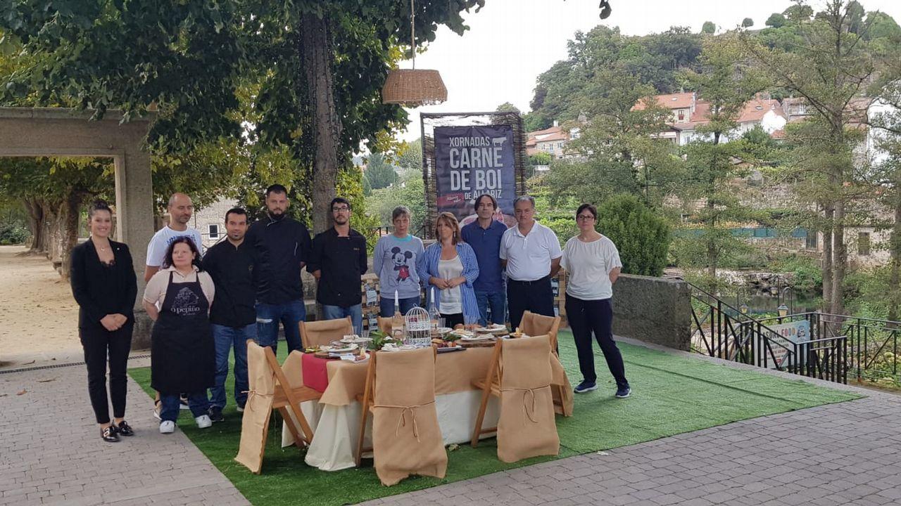 Entrega de los Premios Exceleite en Vilalba.Un ejemplar de lobo