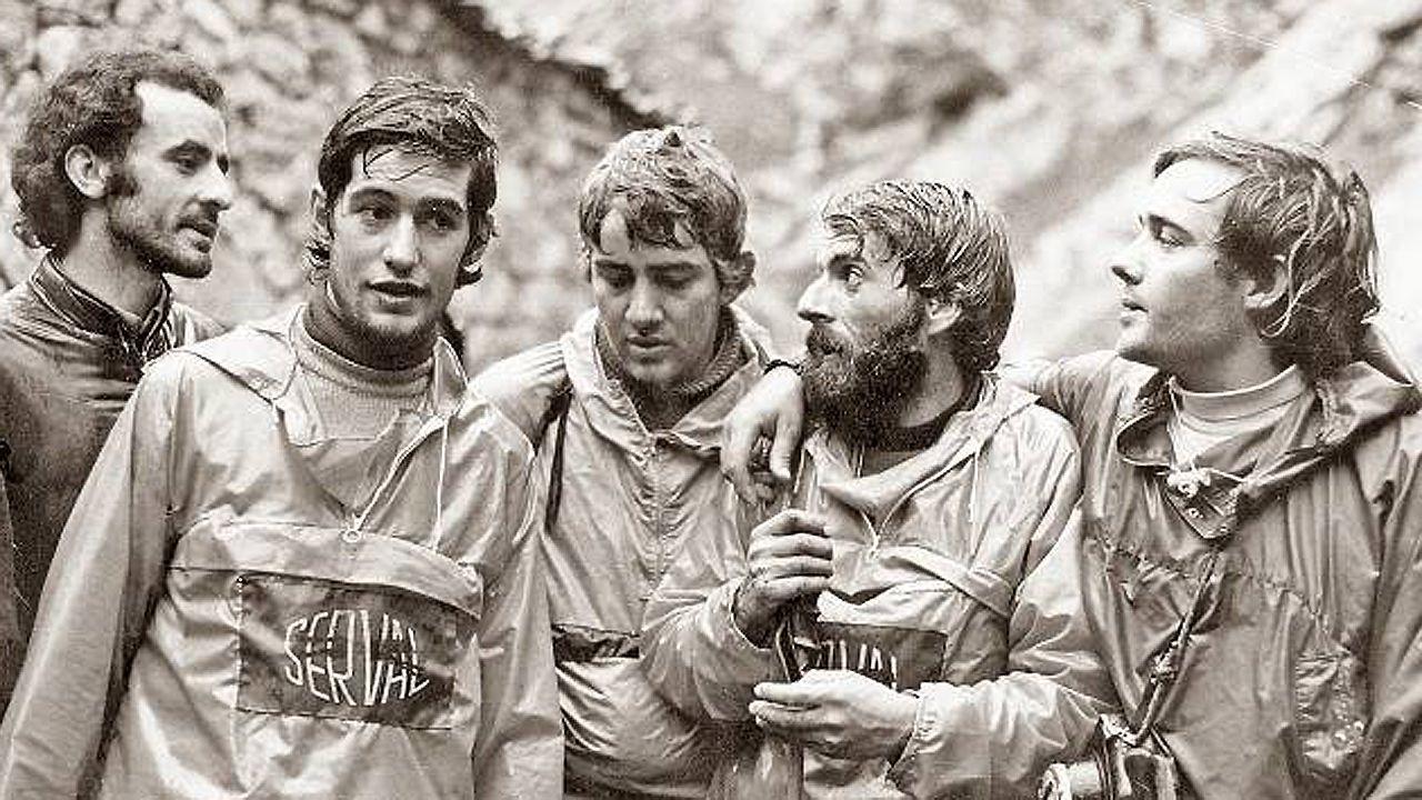 Pedro Antonio Ortega «El Ardilla», José Angel Lucas, Cesar Perez de Tudela y Miguel Angel Gallego «El Murciano»