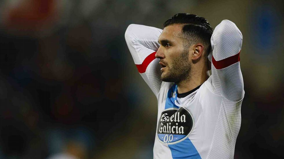 El Getafe-Deportivo, en fotos.