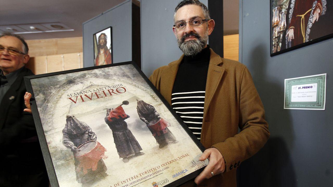 Domingo de Ramos.Un aspecto del proyecto «Reversibilidad y utopía», de Irma Álvarez-Laviada, en el Centro Botín