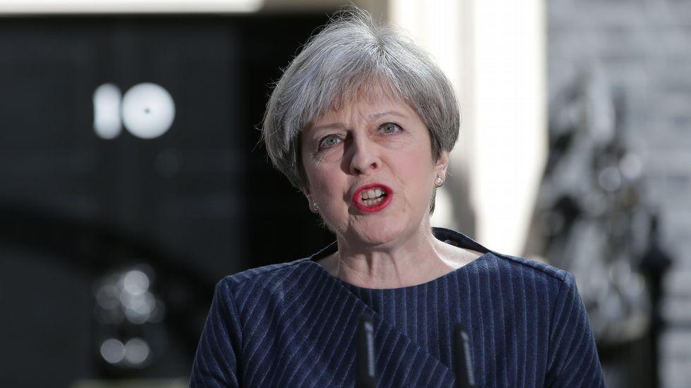 Theresa May anuncia que su gobierno convocará elecciones anticipadas para el 8 de junio.