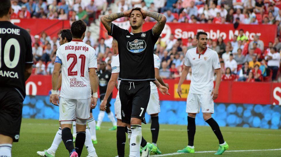 Las mejores imágenes del Sevilla - Deportivo