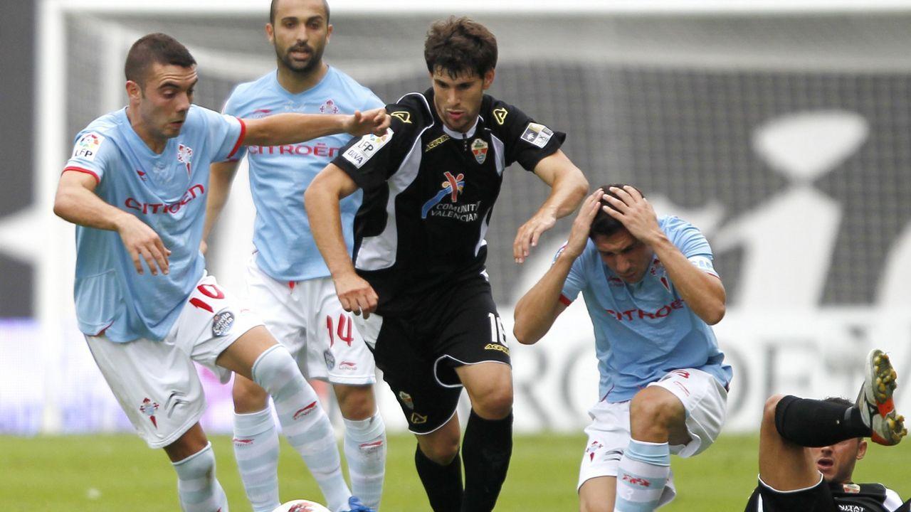 81 - Celta-Elche (1-2) de Segunda el 11 de septiembre del 2011