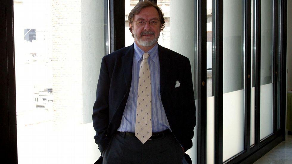 .El presidente del Grupo Prisa, Juan Luis Cebrián