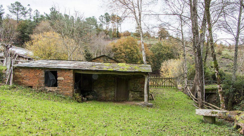 En Penacova se conserva un antiguo molino
