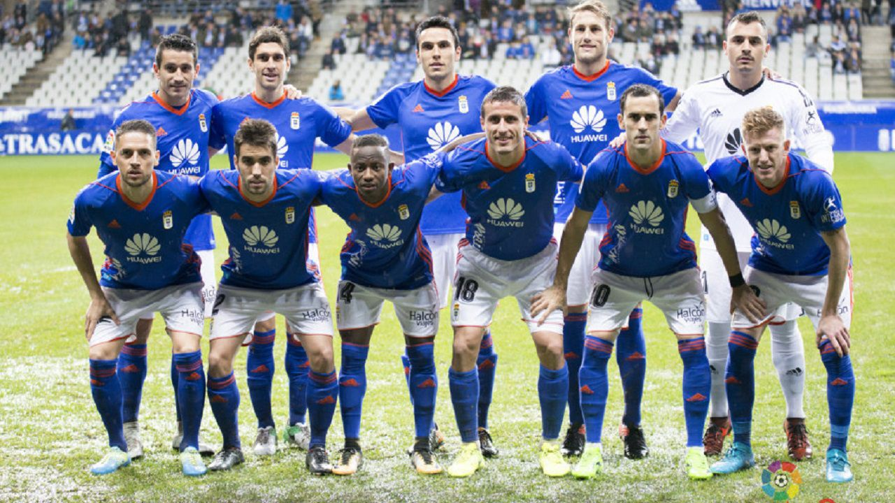 Once inicial del Real Oviedo ante Osasuna