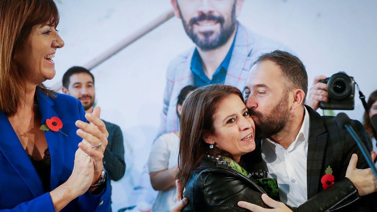Adriana Lastra dijo ayer que PP y Ciudadanos no son constitucionalistas y que apuestan por «lo contrario» que la Carta Magna