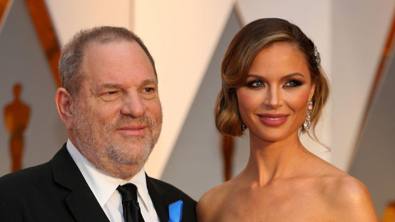 Imagen de archivo del matrimonio formado por Harvey Weinstein y Georgina Chapman