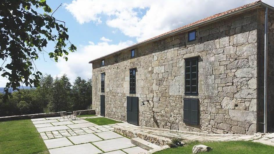 La rectoral estradense de Olives se usa como vivienda y ha ganado un premio de restauración