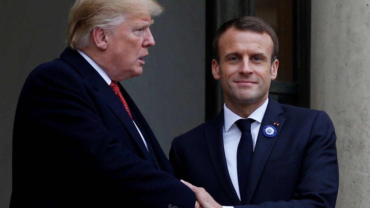 Trump arremete contra el ejército europeo propuesto por Macron: «Es insultante».ENTREGA DE LA FRAGATA EL 29 DE SEPTIEMBRE DEL 2009
