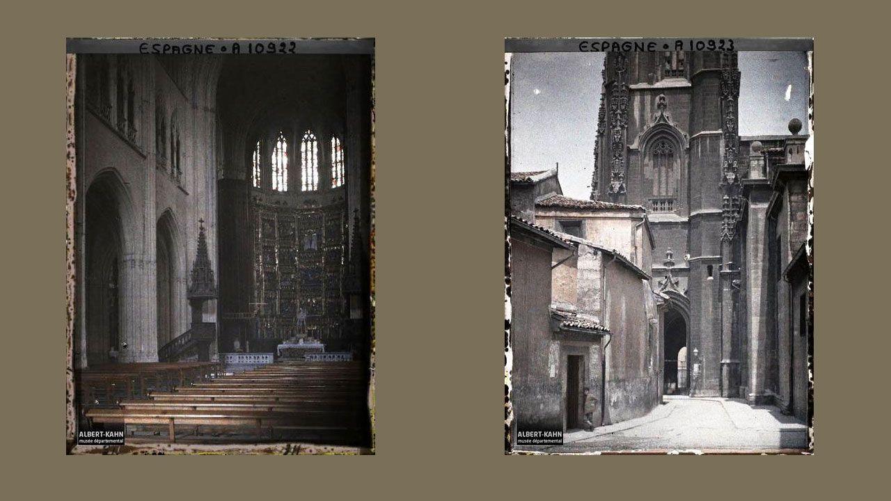 Interior y torre de la Catedral