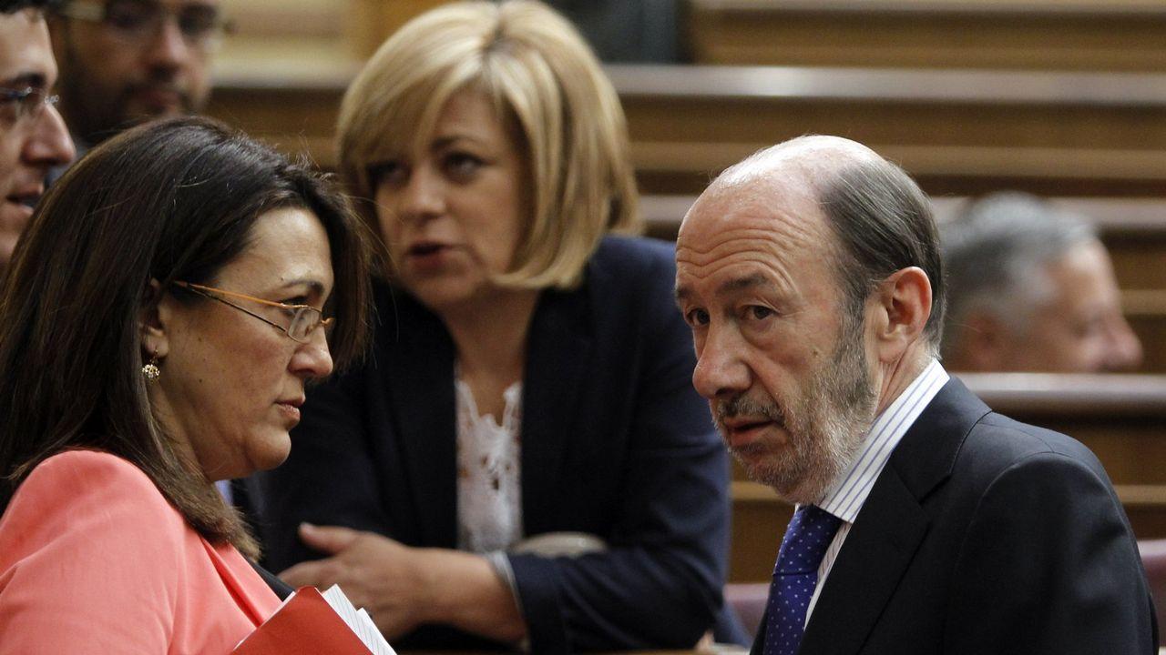 En el 2012 en una sesión de control al Gobierno con la entonces portavoz Soraya Rodríguez