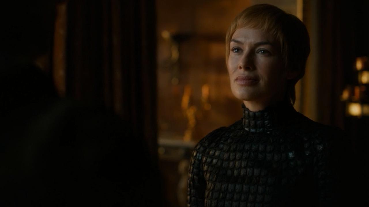 Cersei Lannister en el episodio 7x05 de Juego de Tronos