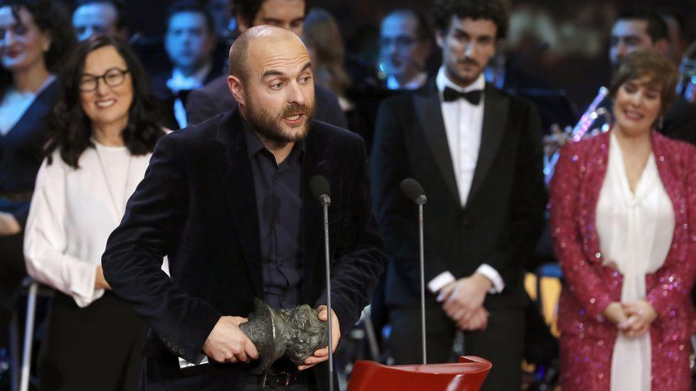 Las fotos de la gala de los Premios Goya 2017.Penélope Cruz fue una de las estrellas de la alfombra roja de los Goya