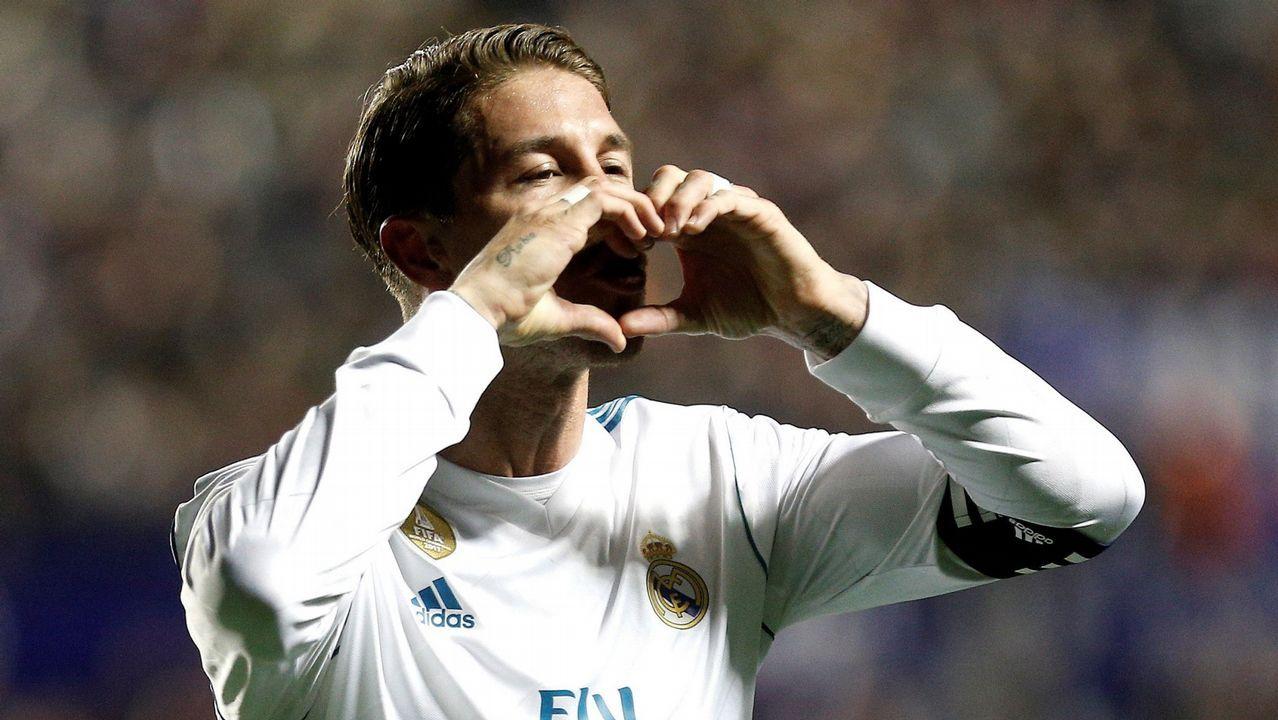 ElPSG - Real Madrid en imágenes.Alineaciones Real Madrid y PSG