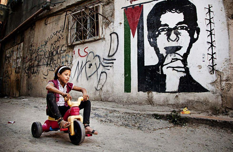 El fotógrafo vigués reflejó el miedo de la población palestina en su viaje a Cisjordania.