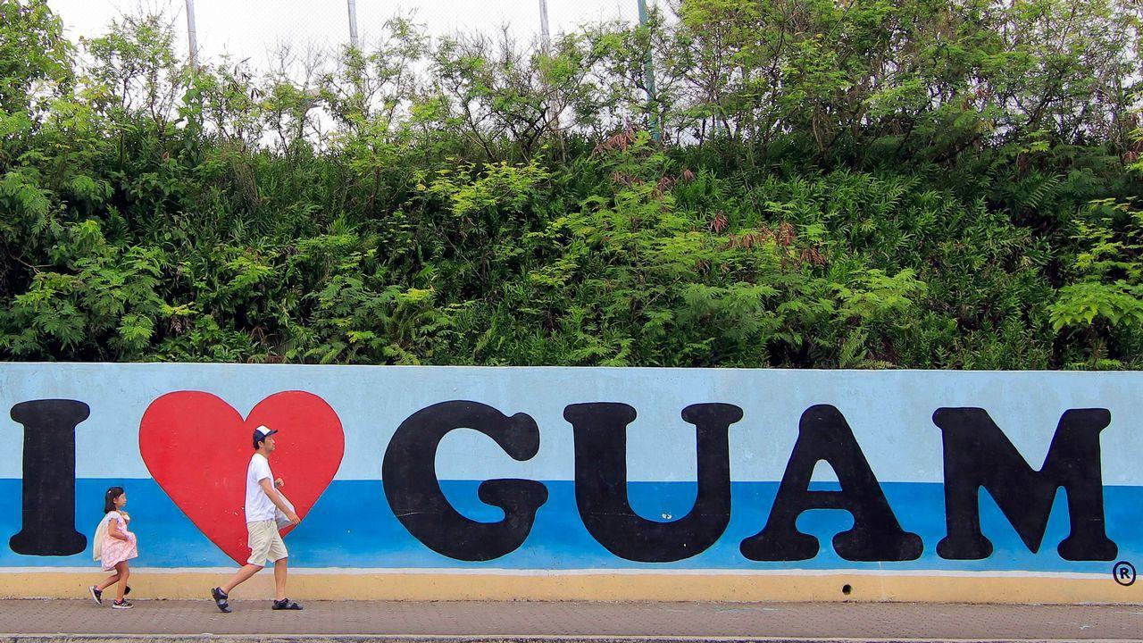 ¿Qué hace un habitante de Guam en Carballo?