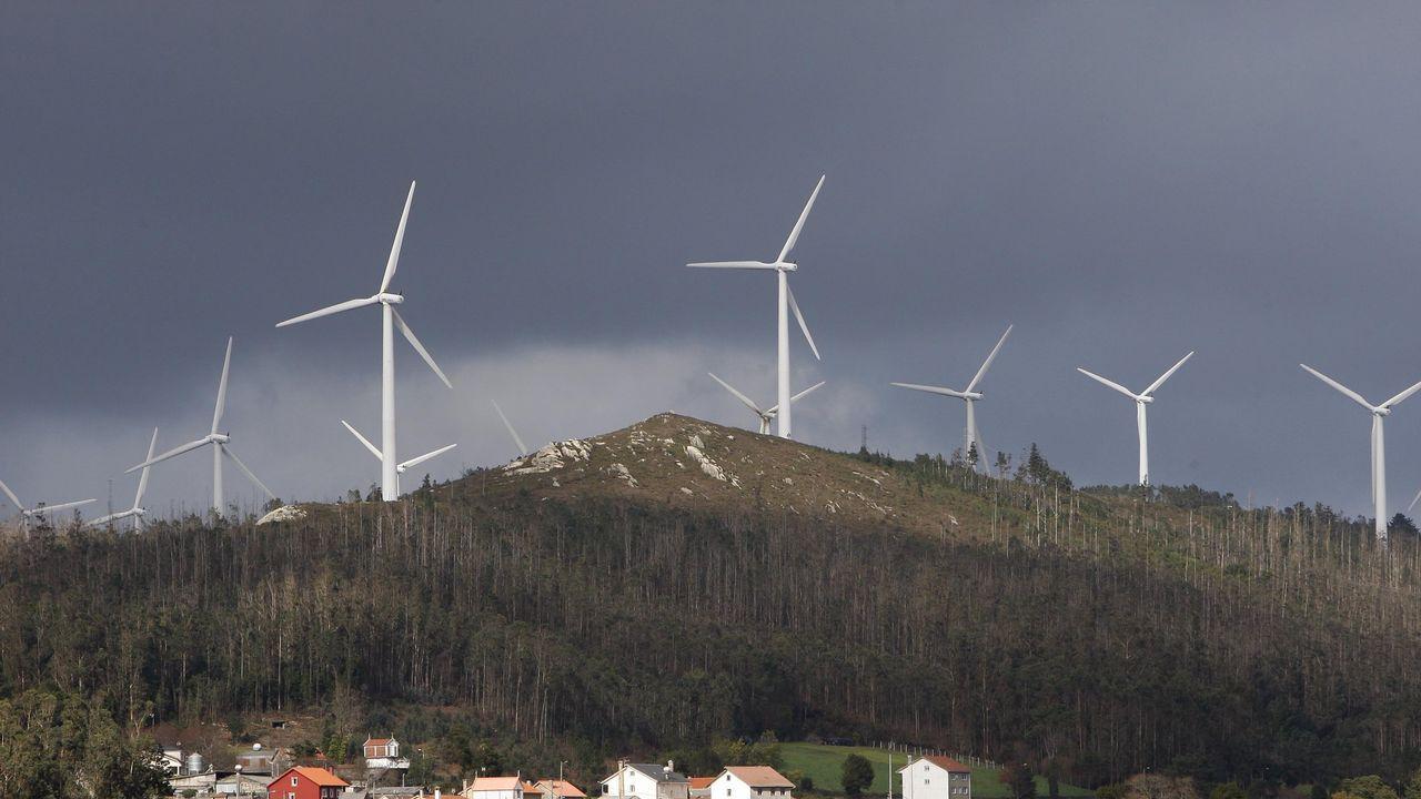 Parque eólico en Silvarredonda, Cabana