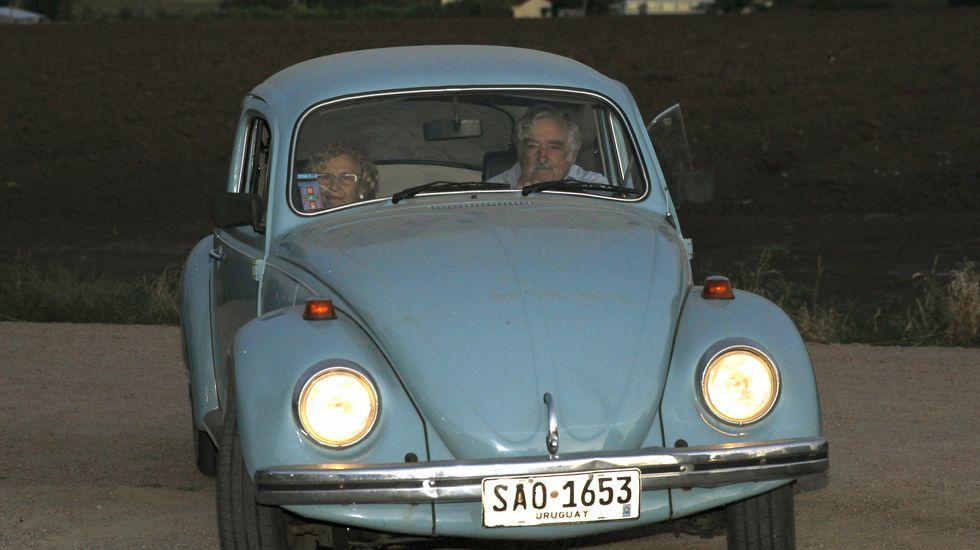 Mujica atribuye la elección de Trump al fenómeno de la globalización.Su paseo en Fusca.